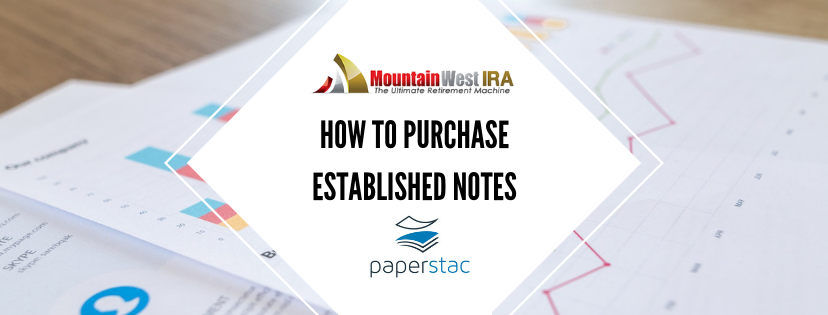 How to Purchase Established Notes - Paperstac